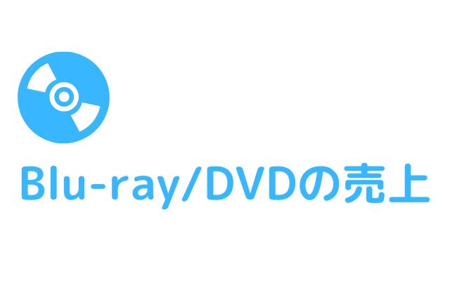 Blu-ray/DVDの売上